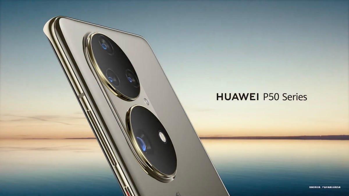 Huawei muestra el Huawei P50 Pro sin anunciar su fecha de lanzamiento