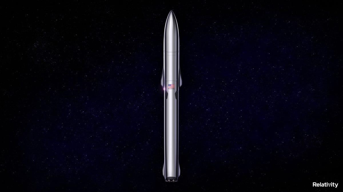 Relativity Space presenta el Terran R, un cohete impreso en 3D para competir con SpaceX