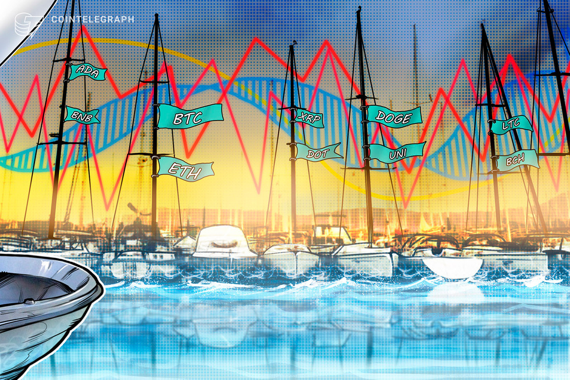 Análisis de precios al 21/6: BTC, ETH, BNB, ADA, XRP, DOGE, DOT, UNI, BCH, LTC