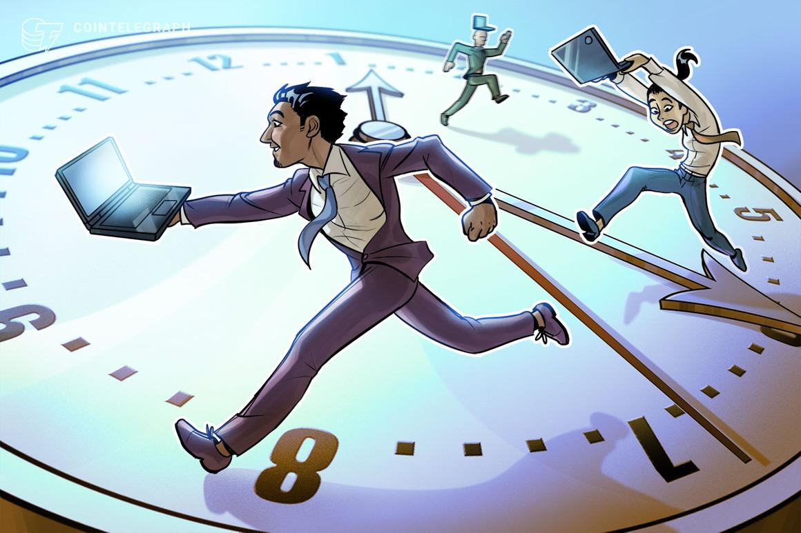 lo que significa una ventaja de 41 minutos para los traders de criptomonedas