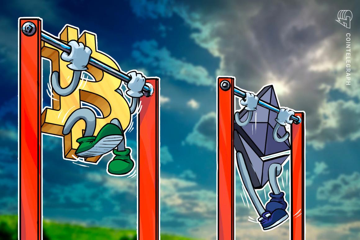El precio de Bitcoin se aferra a USD 32,000 mientras que las métricas on-chain apuntan a una mayor caída