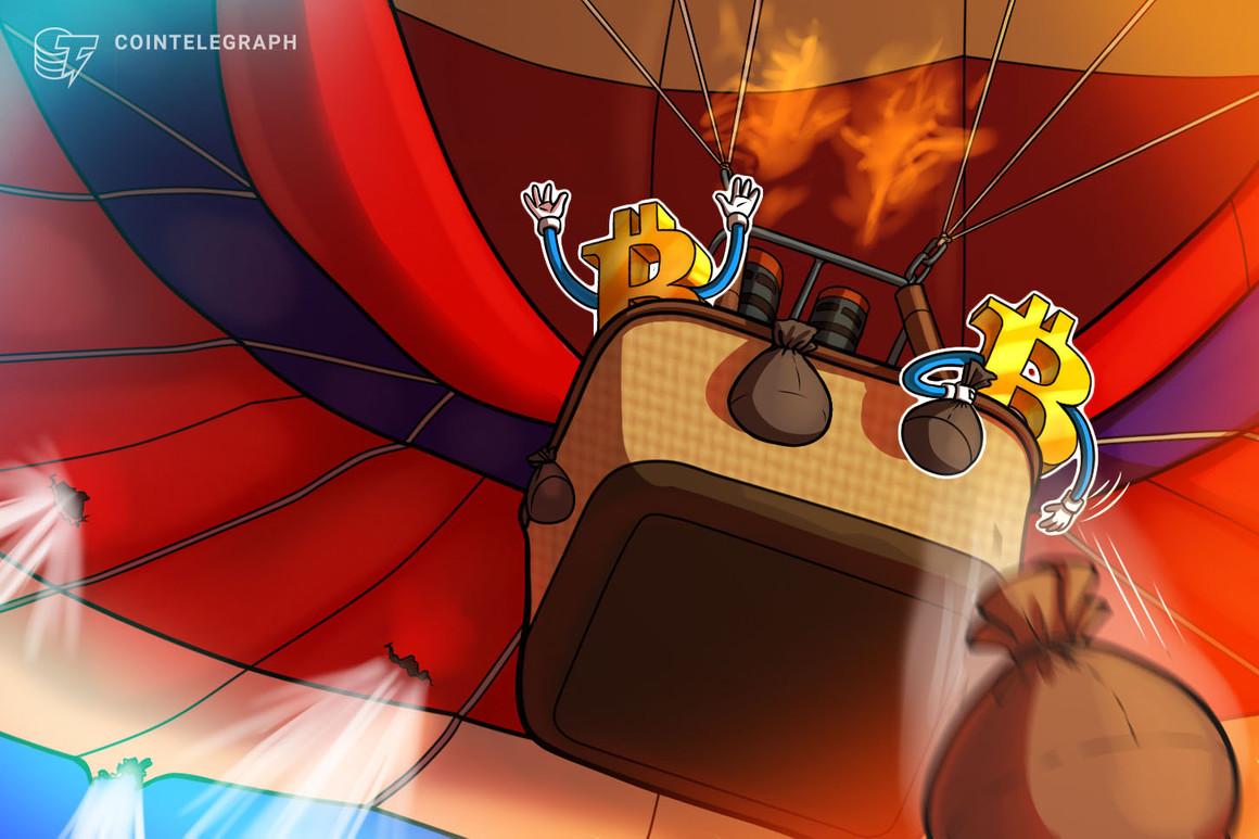 Bitcoin puede perder el nivel de precio de los 30,000 dólares si las acciones se hunden, advierten los analistas