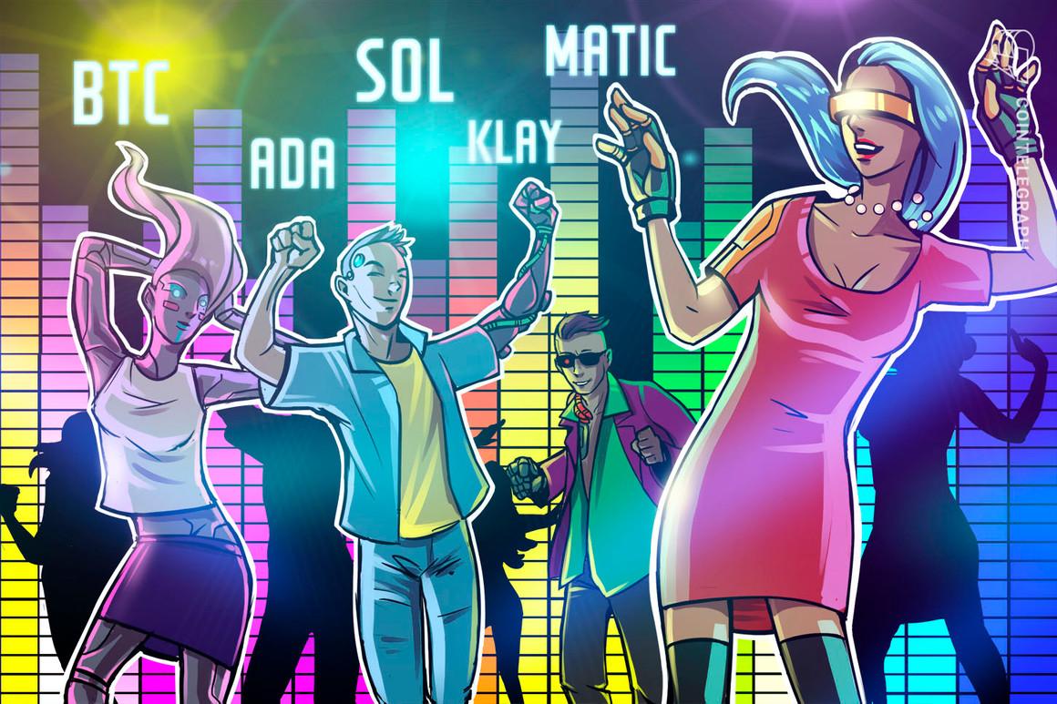 BTC, ADA, SOL, MATIC, KLAY