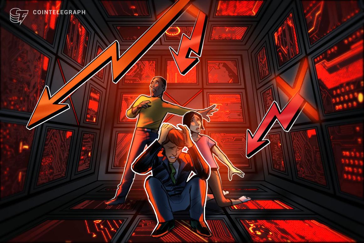 Los mercados de criptomonedas caen después de que los mineros vendieran 5,000 BTC en una semana