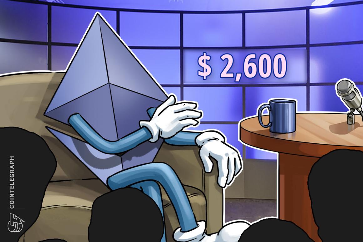 El rebote del precio de Ethereum hasta los USD 2,600 no consigue entusiasmar a los traders profesionales sean neutrales o bajistas