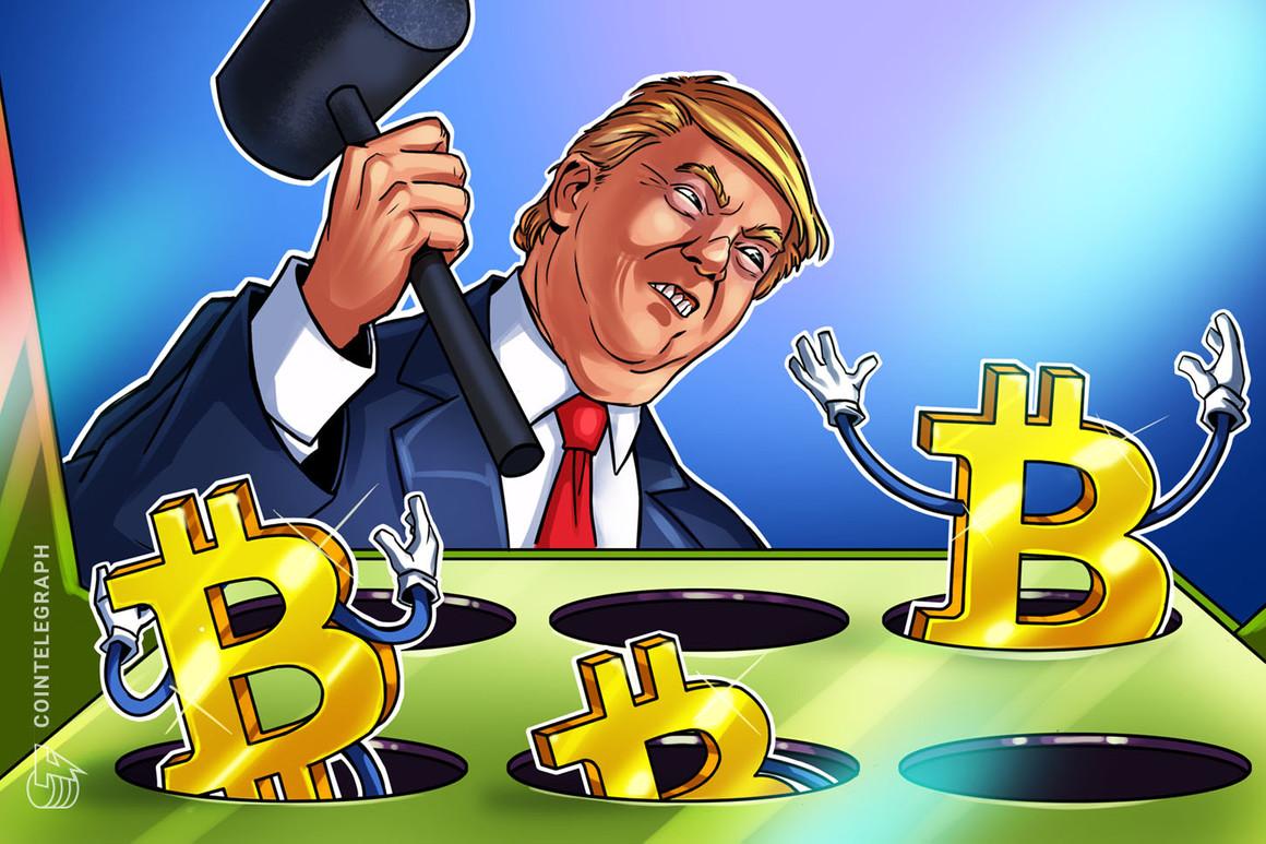 Donald Trump tacha a Bitcoin de estafa y aboga por la hegemonía del dólar