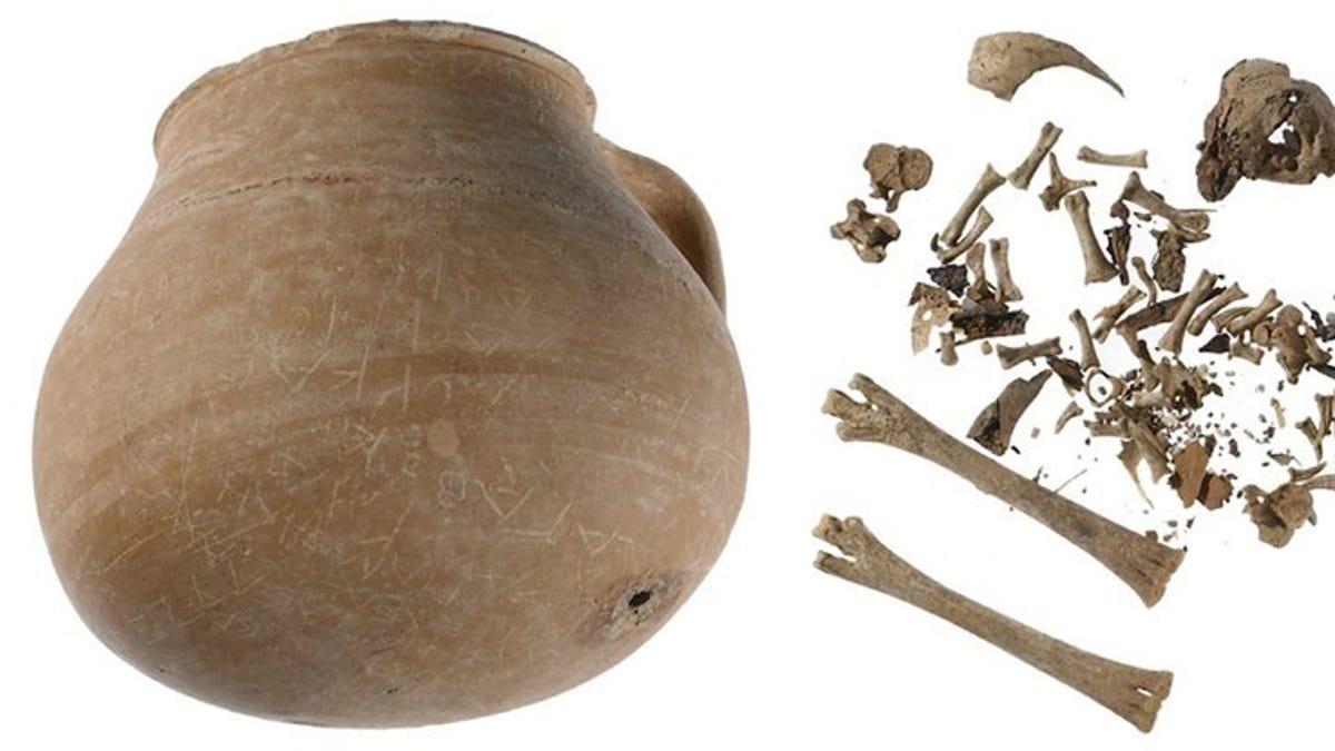 Esta pieza de cerámica escondía una maldición de 2000 años