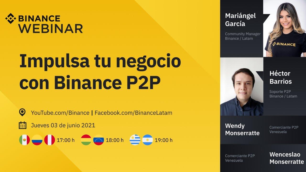Impulsa tu negocio con Binance P2P