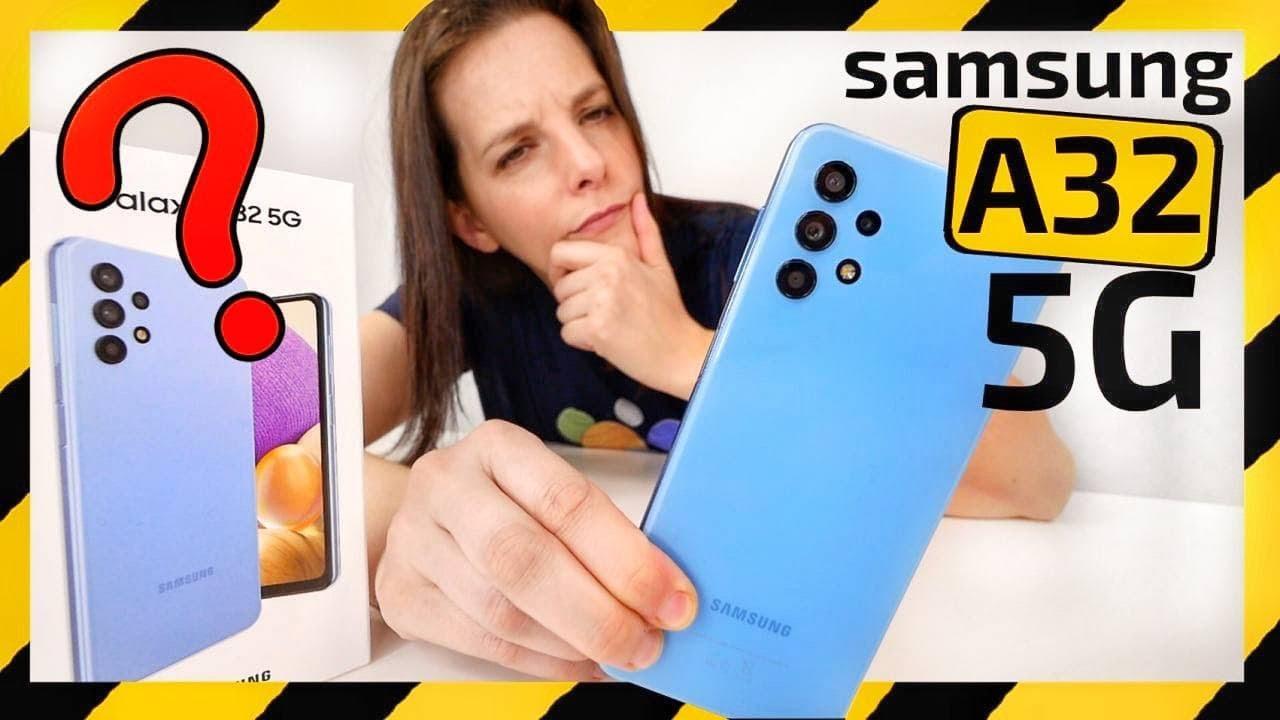 Samsung Galaxy A32 5G Unboxing -¿DESASTRE ÉPICO?- vs A32 4G