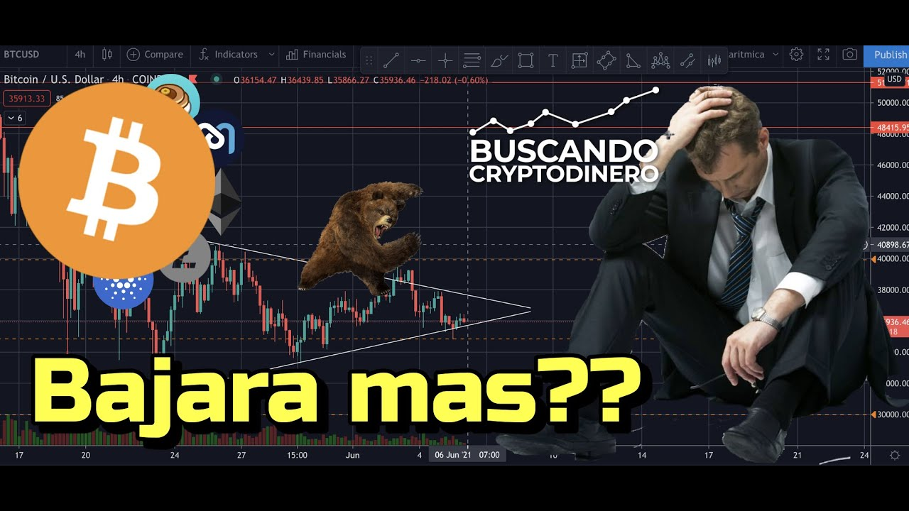 🚨 BITCOIN ➤ Se pondrá PEOR antes de que se ponga MEJOR?? + 8 monedas y Rifa de Litecoin !!