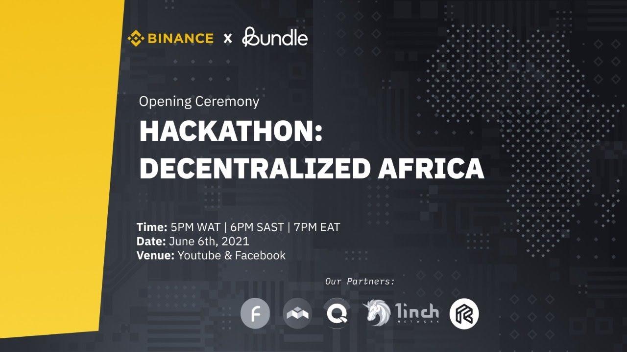Opening Ceremony: Decentralized Africa; Hackathon