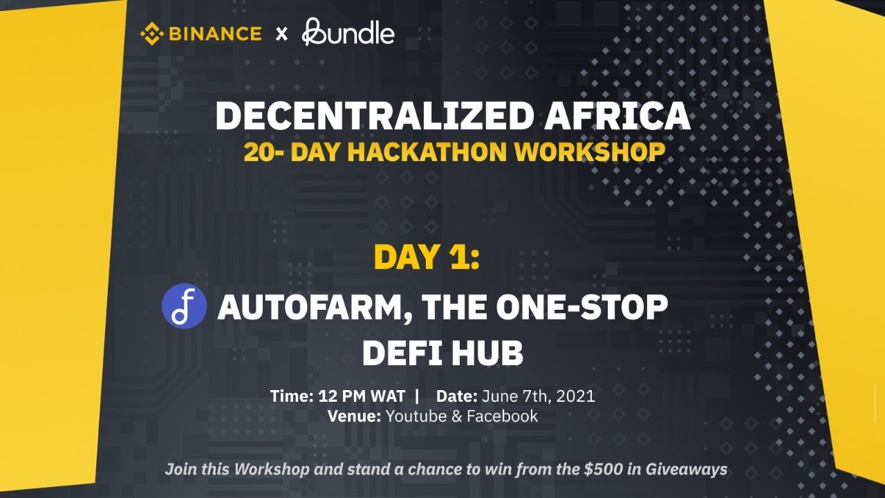 Decentralized Africa Hackathon: DAY 1