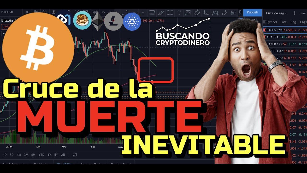"☠️ Bitcoin ➤ Cruce de la MUERTE ""INEVITABLE"" + 6 monedas y Rifa de Litecoin !!"