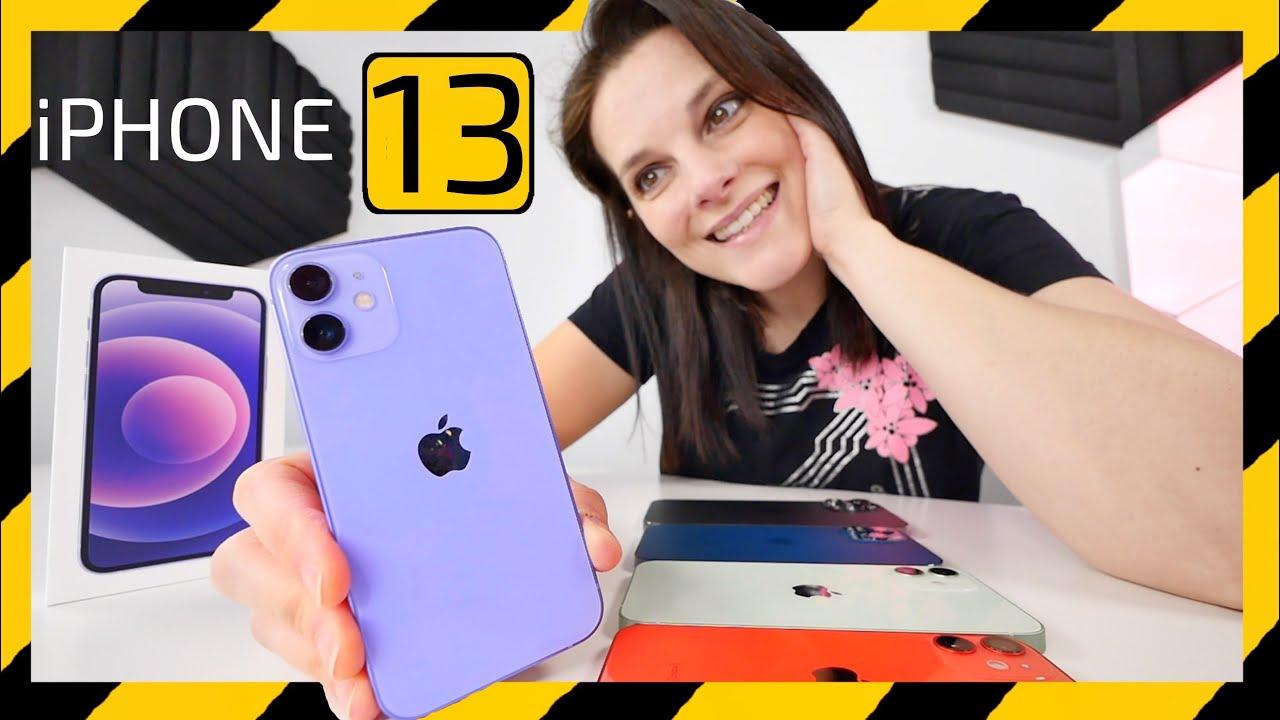 Apple iPhone 13 RUMORES + unboxing color PURPURA
