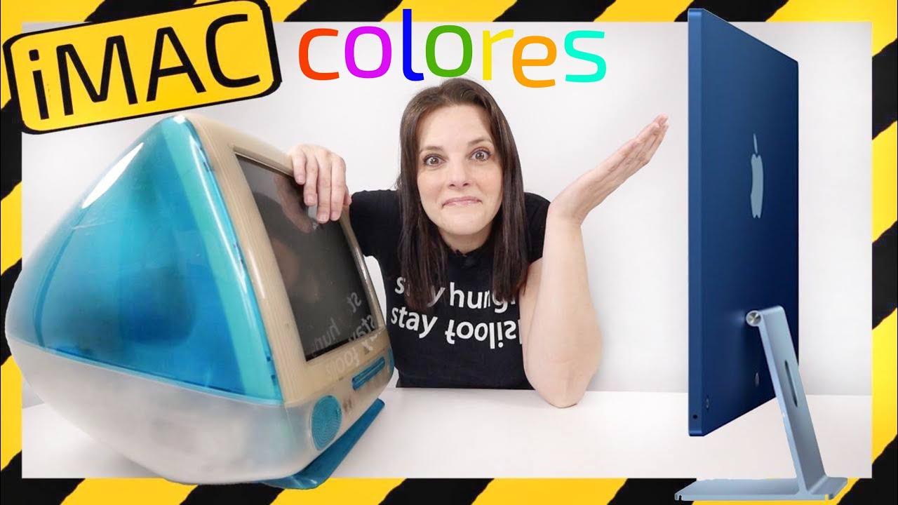 Apple iMac colores -GOLPE INESPERADO-
