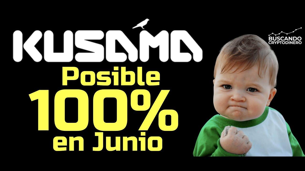 """🚀 URGENTE: KUSAMA """"KSM"""" Posible 100% de subida en JUNIO !! #parachains #subastas #pujas"""