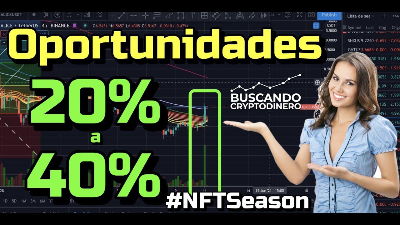 🚀 WOW #NFTSeason Comienza?➤ Oportunidades 20 40% + 14 monedas y 2 Rifas !!
