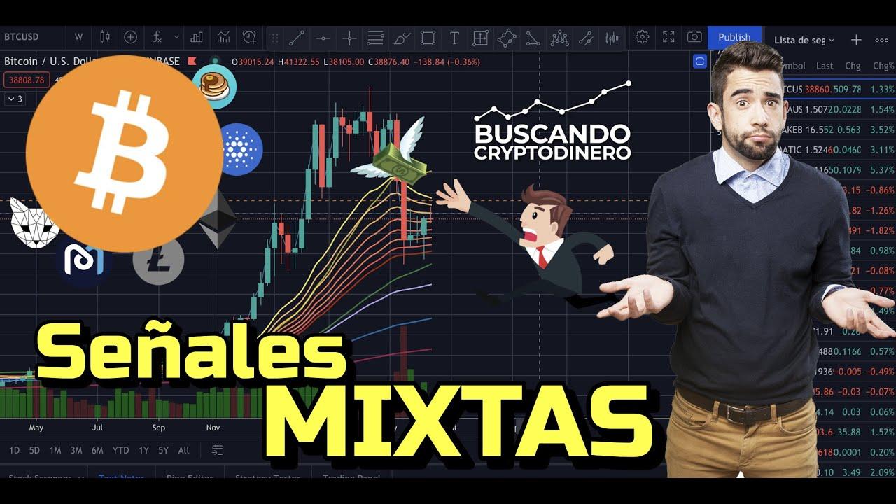 😵💫 BITCOIN  ➤Señales Mixtas !! + 16 monedas y Rifa de Litecoin !!!