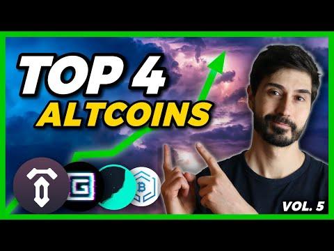 👉 Las MEJORES ALTCOINS del MOMENTO | Top 4 Criptomonedas Baratas después de la Caída del Bitcoin 👀