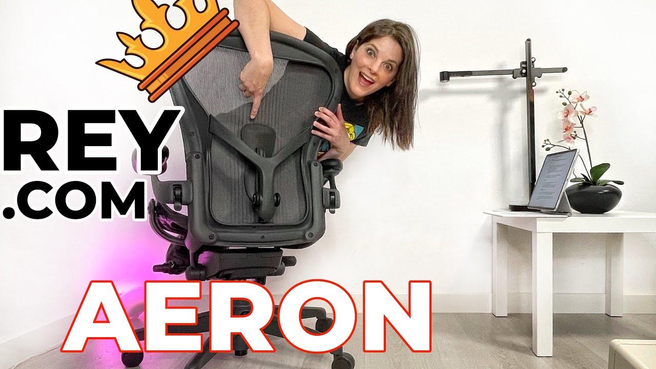 ¿MEJOR que una silla de GAMING? -Aeron Herman Miller-