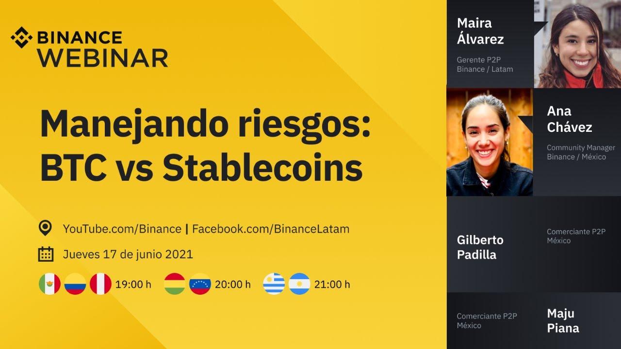 Manejando riesgos: BTC vs Stablecoins