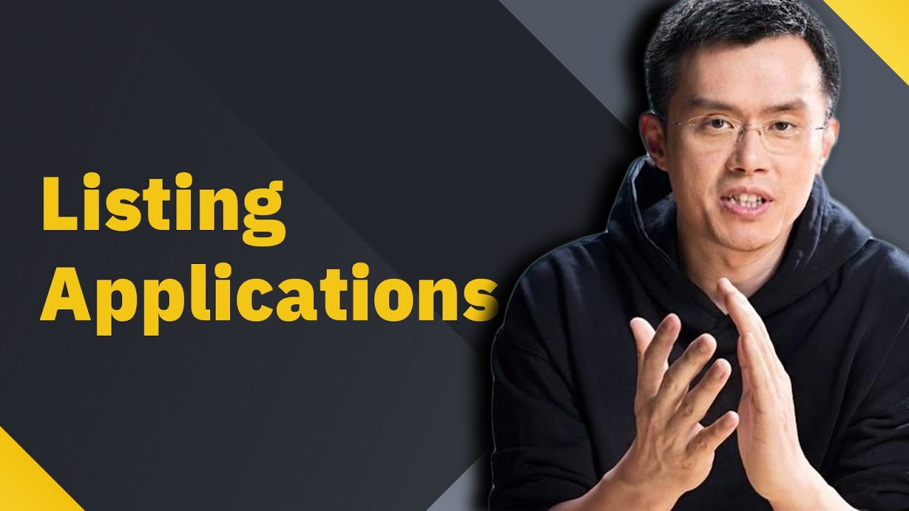 How to apply for a Binance listing