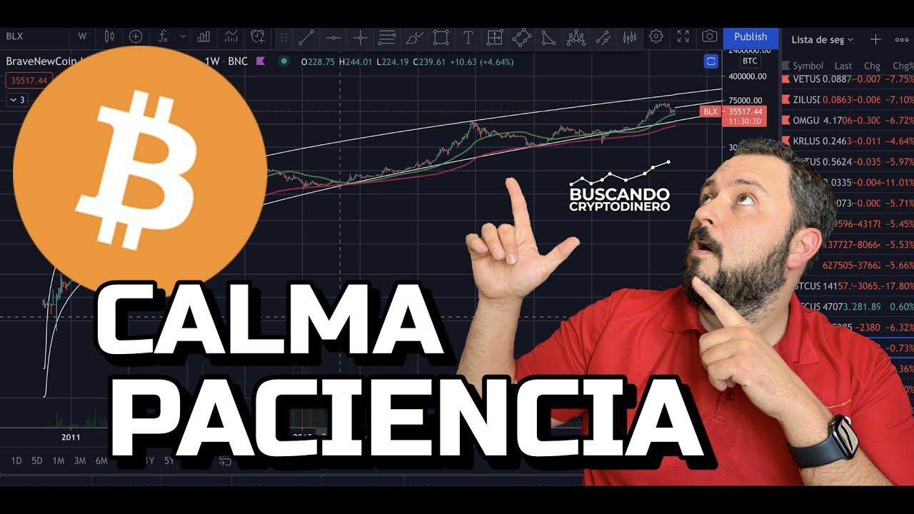 😮💨 Bitcoiners ➤ CALMA y PACIENCIA… esto se puede alargar + Rifa de Litecoin !!!