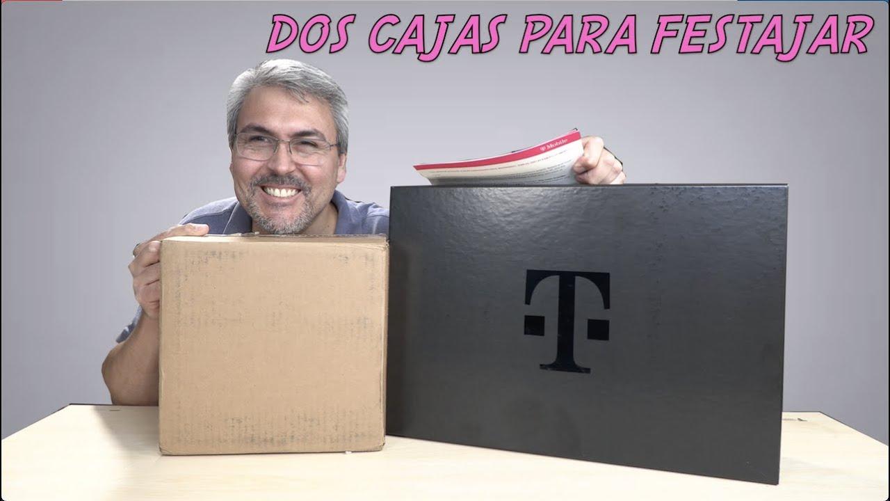 Dos cajas para celebrar con T-Mobile 5GIN