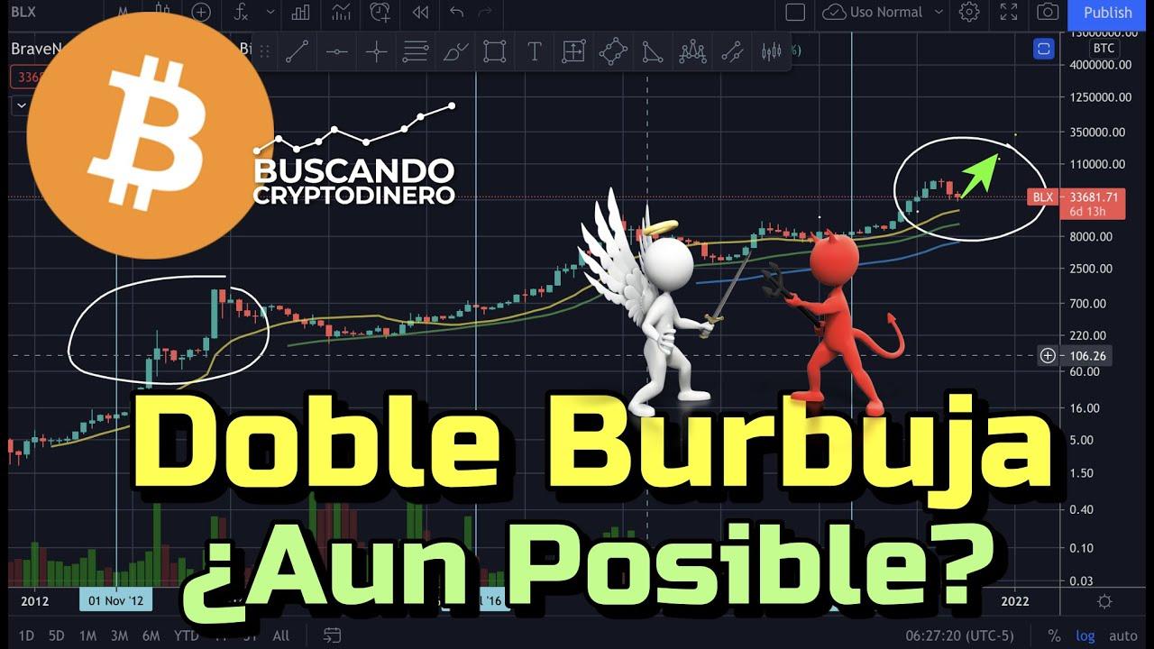 🤔 BITCOIN ➤ Aun POSIBLE la Doble Burbuja este 2021 y 100k?? + Rifa de Litecoin !!