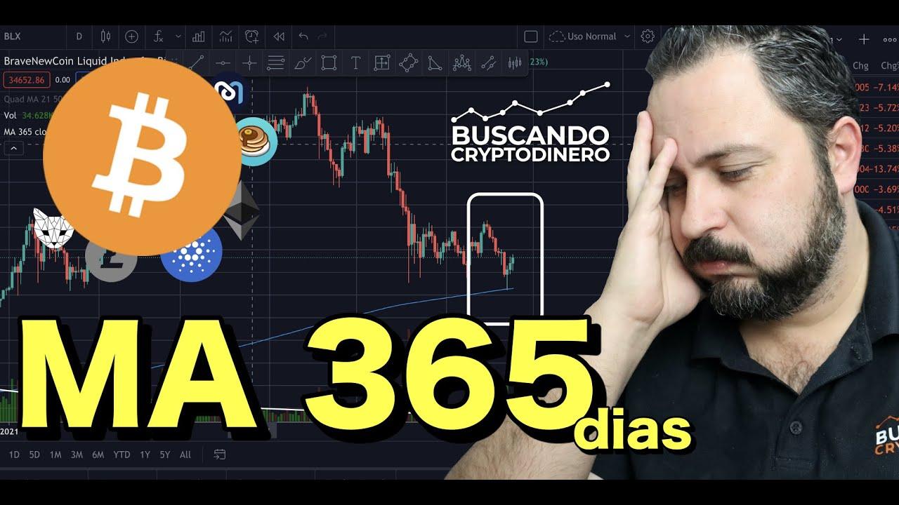 🤢 BITCOIN ➤ MA 365 dias ¿Me preocupa? + 10 monedas y 2 RIFAS !!