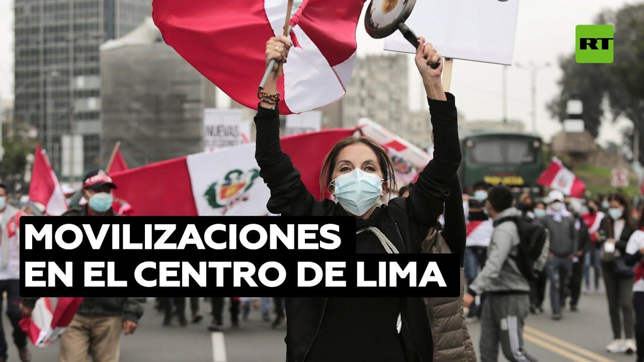 Perú: Convocan marchas para exigir que se proclame el triunfo de Pedro Castillo