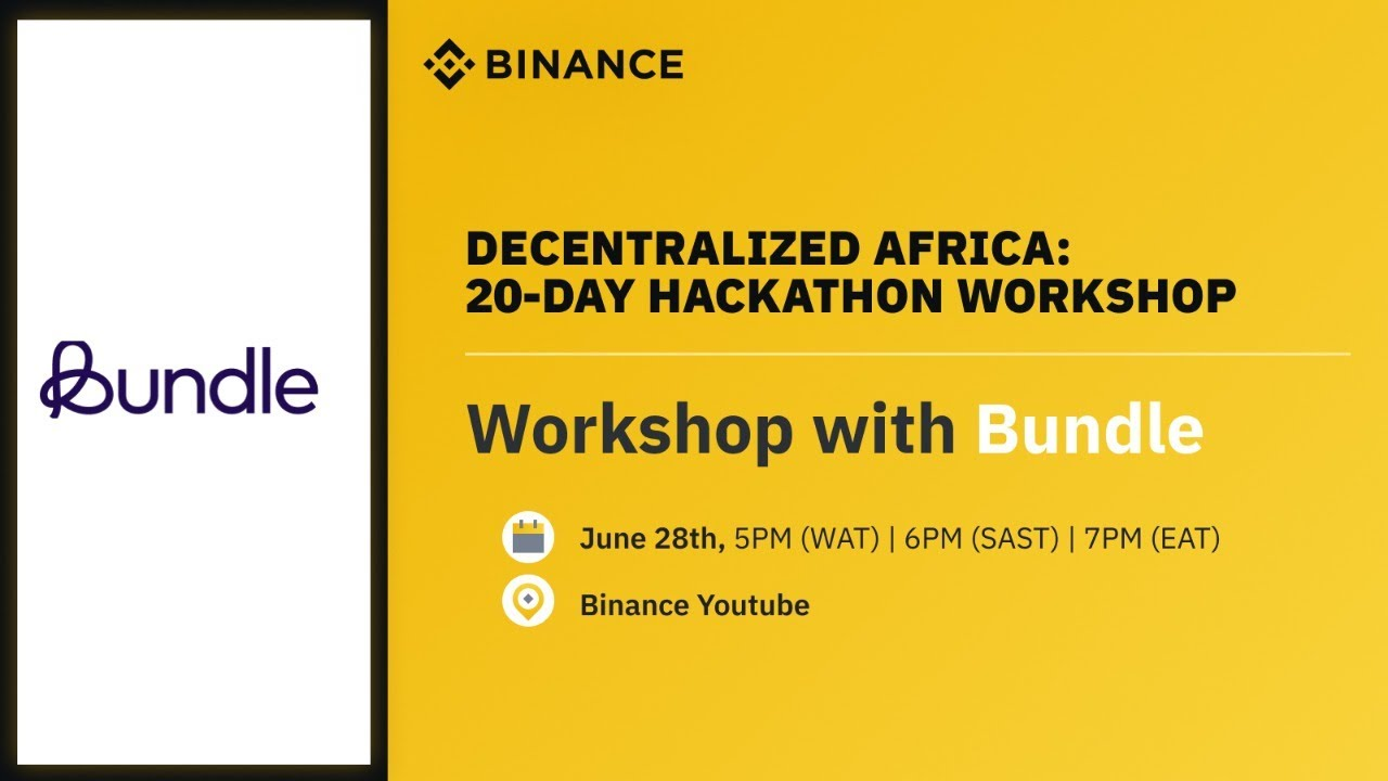 Africa Hackathon: Workshop with Bundle