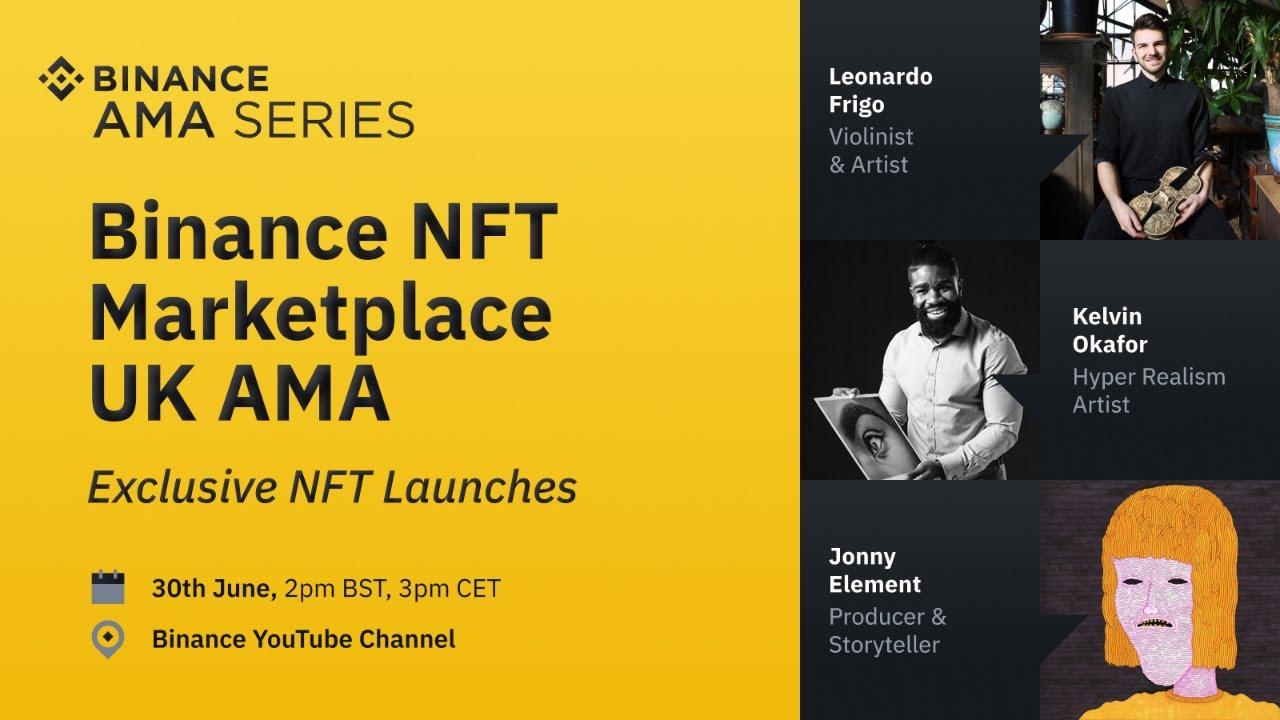 Binance UK NFT Marketplace Launch – AMA