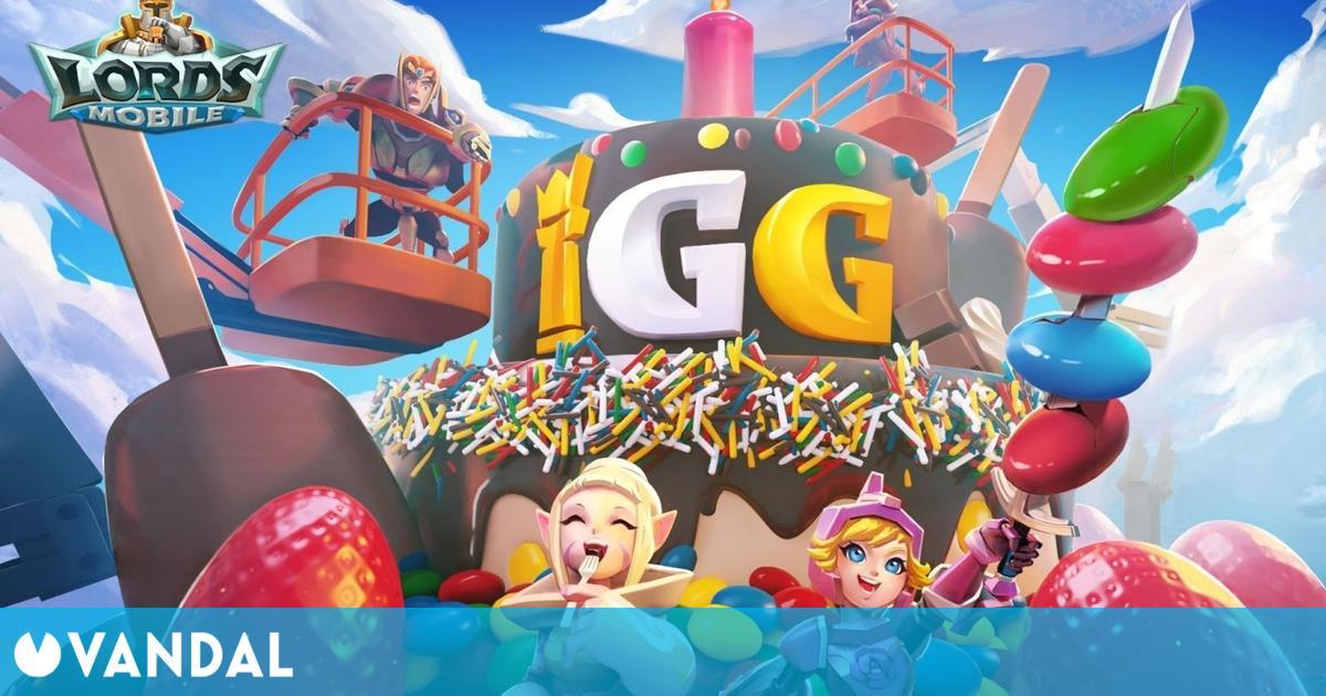 Lords Mobile introduce el modo Portal Mágico y recompensas por el 15 aniversario de IGG