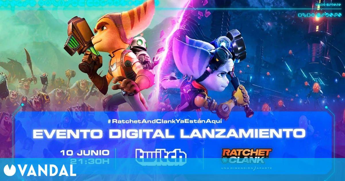Ratchet & Clank Una Dimensión Aparte: sigue aquí el evento que se celebrará a las 21:30
