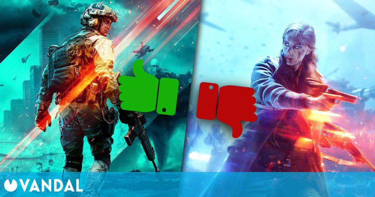 Battlefield 2042 sí convence a los fans con su tráiler, al contrario que Battlefield V