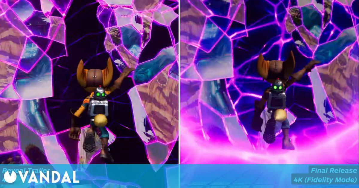 Ratchet and Clank: Una Dimensión Aparte: Comparan el tráiler de anuncio con el juego final