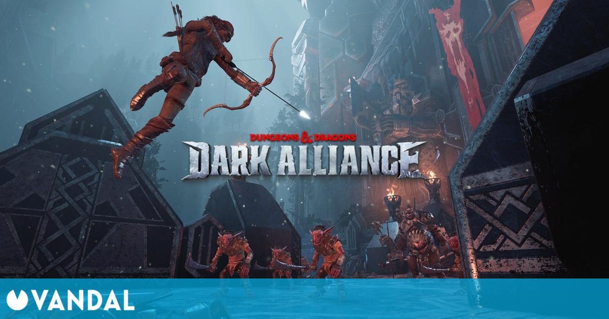 Dungeons & Dragons: Dark Alliance saca crítico y presenta su jugabilidad