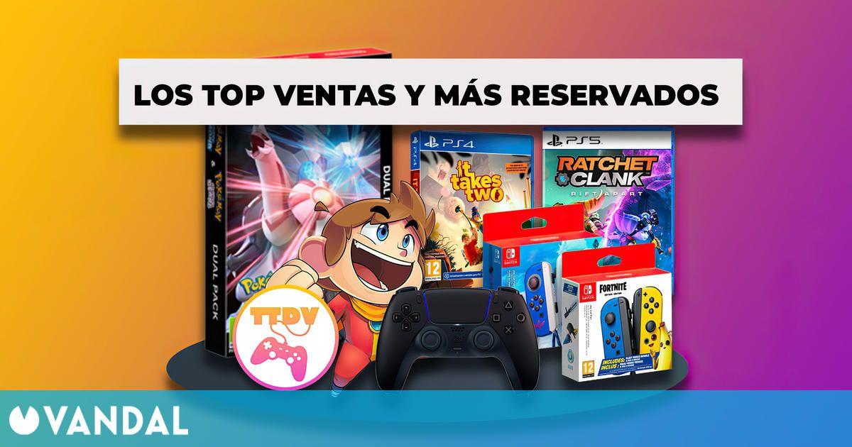 TTDV repasa su top de ventas del mes y los juegos más reservados