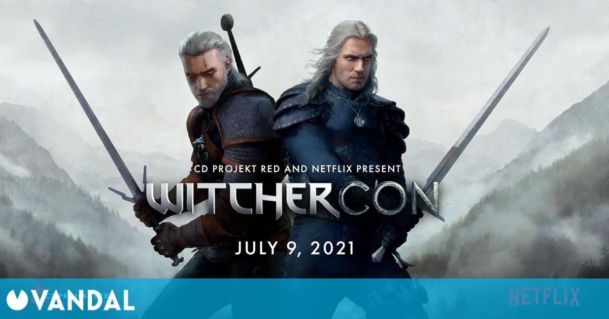 CD Projekt y Netlflix anuncian WitcherCon, un evento de The Witcher para el 9 y 10 de julio