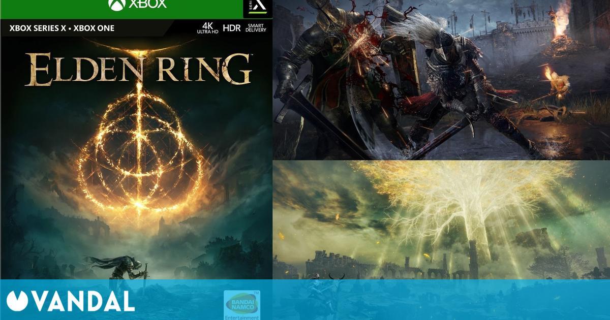 Así será la portada de Elden Ring, lo nuevo de FromSoftware