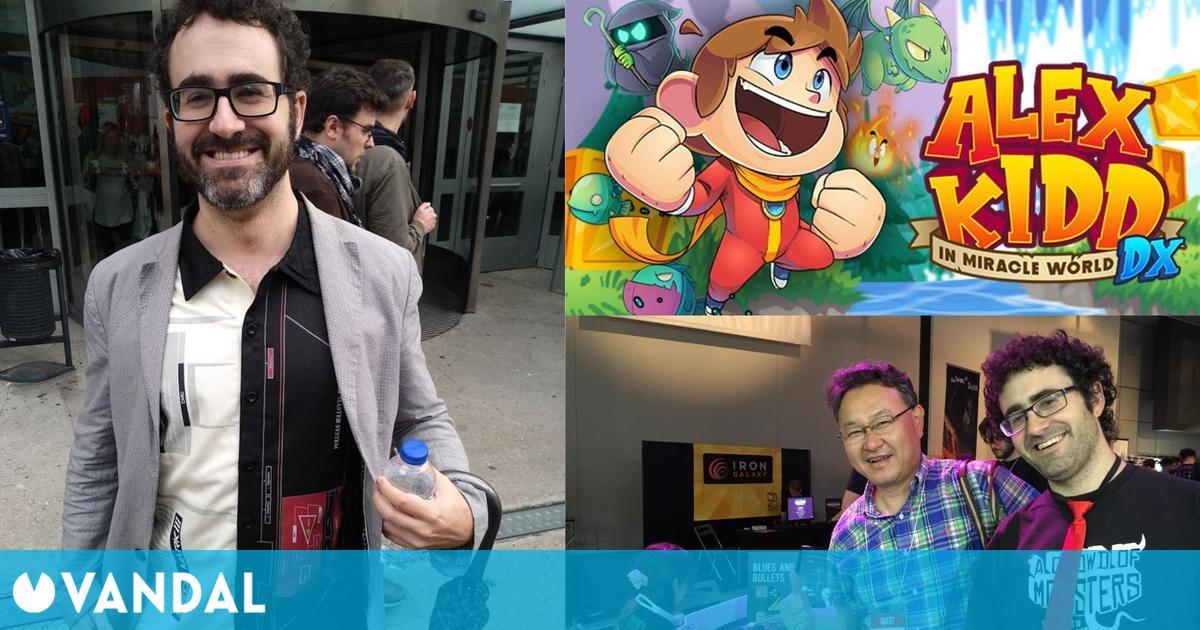 Ramón Nafria, el mejor conocedor del panorama del videojuego independiente