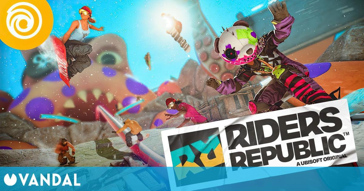 Riders Republic se lanza el 2 de septiembre; se muestra un nuevo vídeo de gameplay