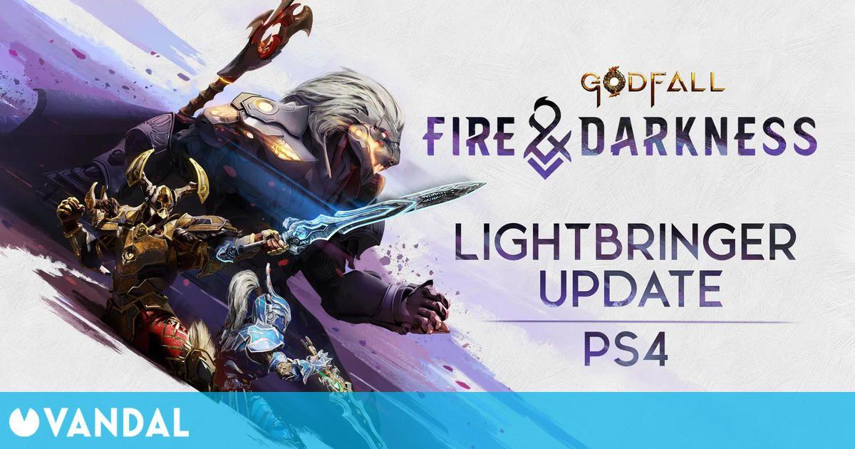 Godfall llegará a PS4: Saldrá el 10 de agosto junto a Fire & Darkness, su nueva expansión