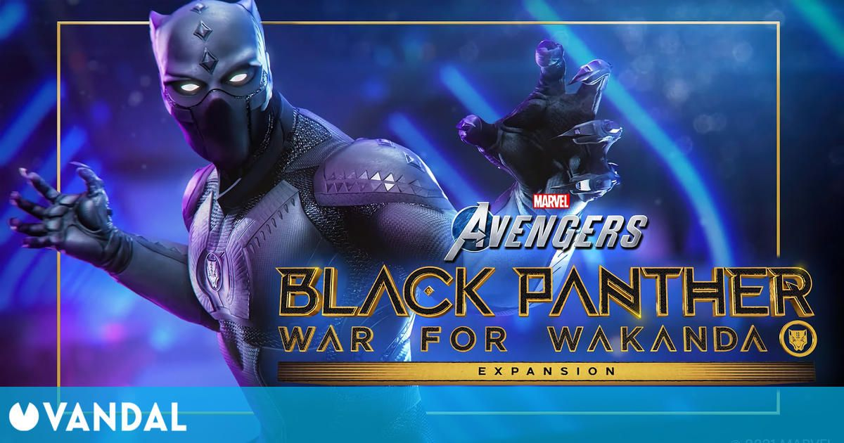 Marvel's Avengers muestra tráiler de su primera gran expansión: Guerra por Wakanda