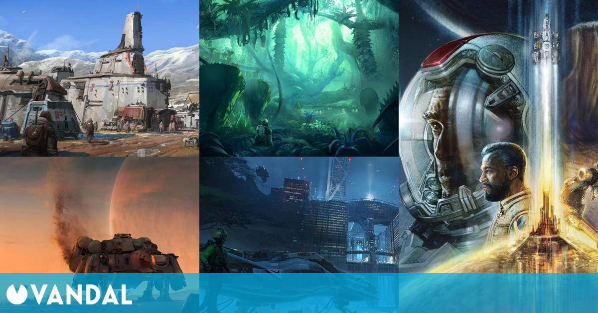 Starfield será más 'hardcore', tendrá cámara en primera y tercera persona, alienígenas y más