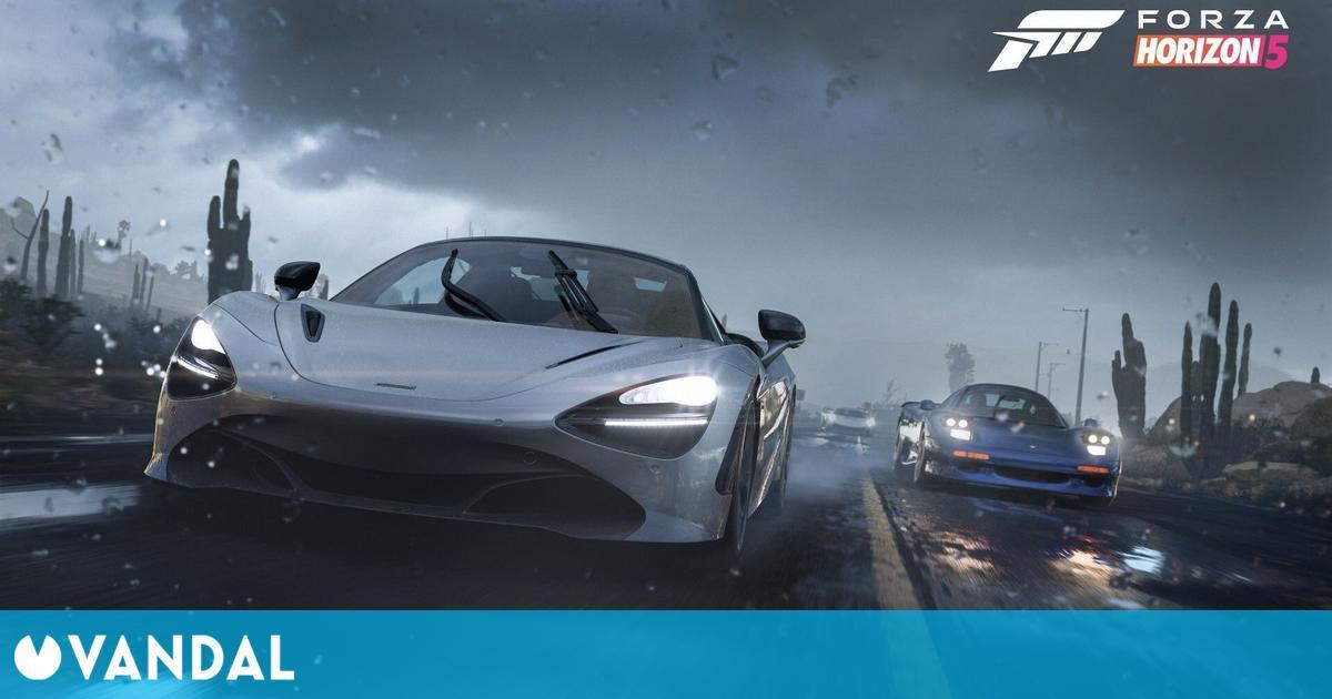 Forza Horizon 5 explica los efectos del clima en la conducción y detalla sus modos de juego