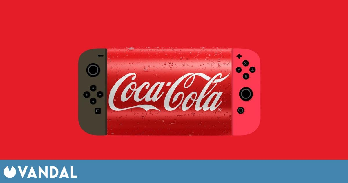 Coca-Cola bromea sobre la existencia de Nintendo Switch Pro en una divertida publicación