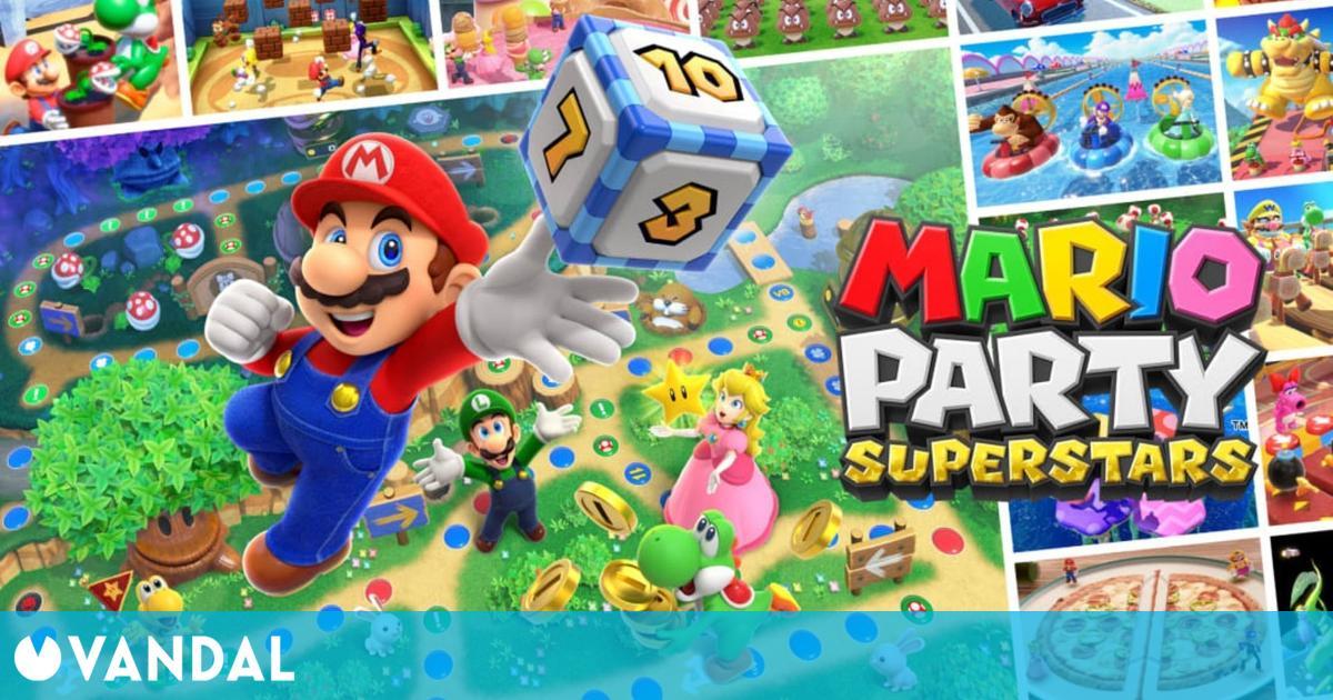 Mario Party Superstars anunciado para Switch: Se lanzará el 29 de octubre