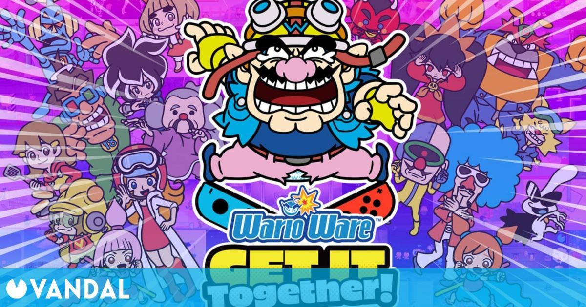 WarioWare: Get It Together! llevará más de 200 minijuegos a Switch el 10 de septiembre